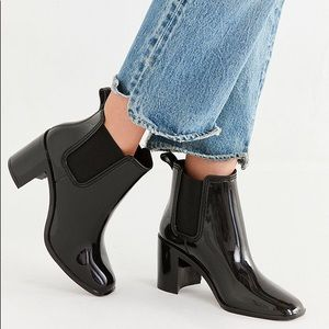 Jeffrey Campbell Ankle Boot rain boots heels